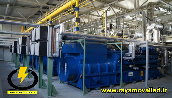 نیروگاه ژنراتور گازی mwm شرکت رایا مولد