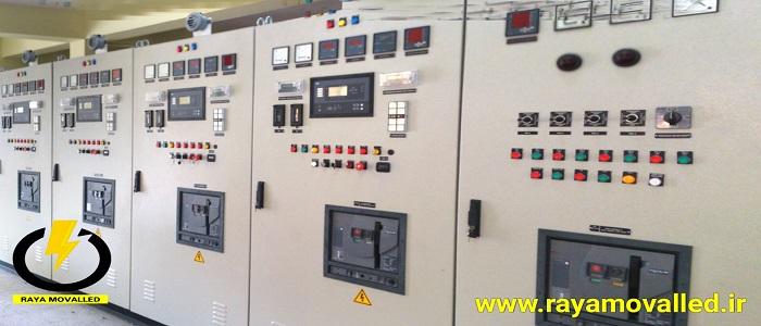 کنترلر ژنراتور گازسوز نصب و راه اندازی شرکت رایا مولد